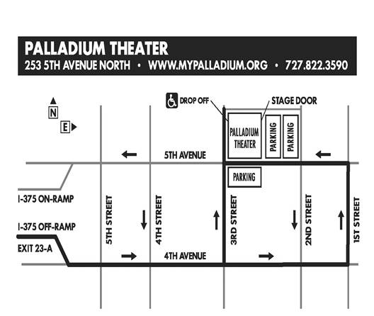 Driving Directions to The Palladium Theater